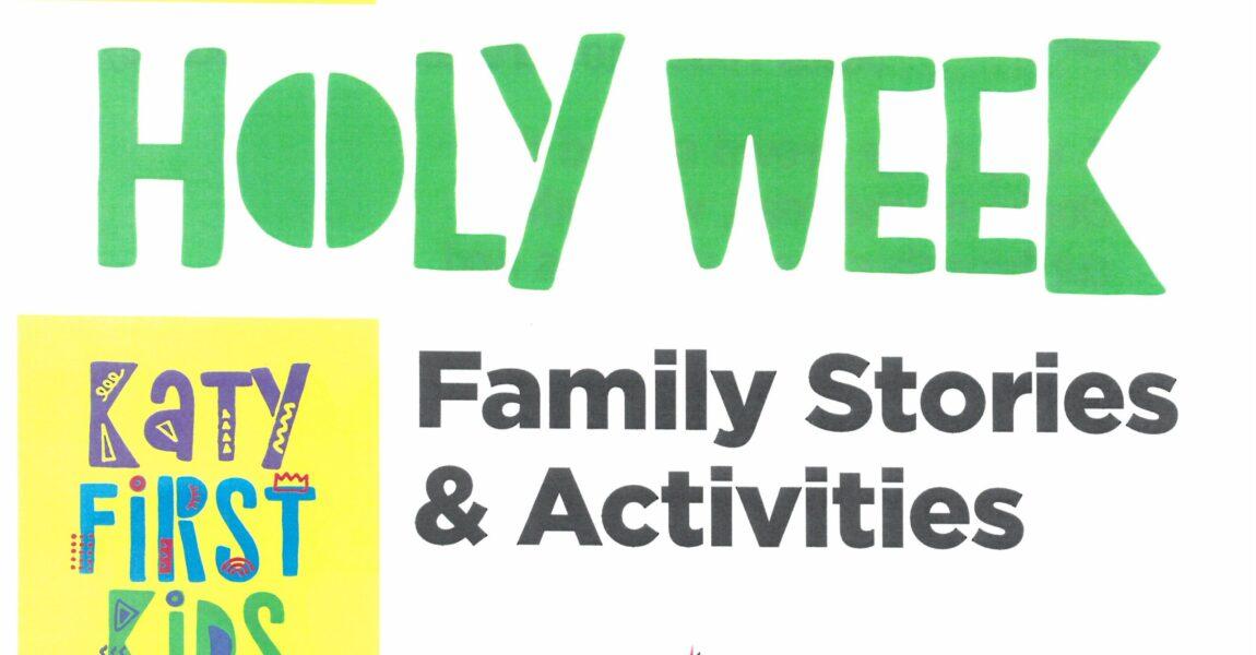 Holy Week Activities for Children